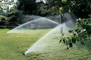 backyard sprinklers